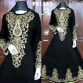 Abaya Hitam Arab Saudi Kode 84 model gamis arab kode fs1383 a bajuindia bajuindia