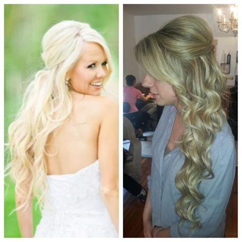 bridal hairstyles extensions bridal hair wedding hair long hair extensions blonde