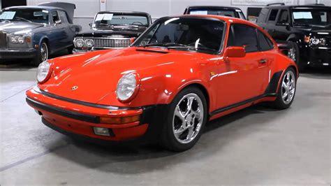 Youtube Porsche by 1985 Porsche 930 Turbo Youtube