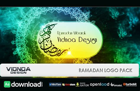 template after effects ramadan ramadan logo pack free download videohive free after