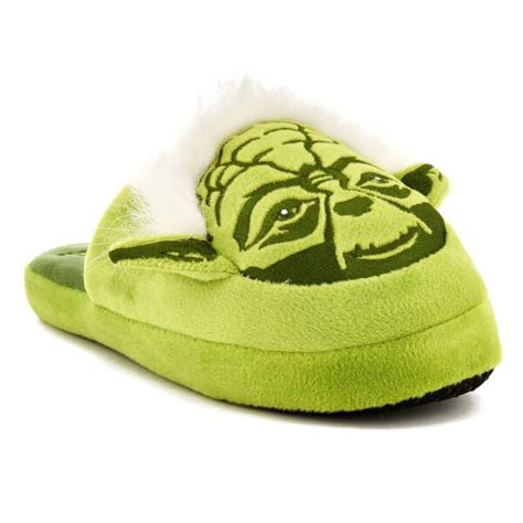 yoda slippers wars s yoda slippers green clothing zavvi