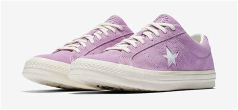 Converse One X Golf Le Fleur Purple Suede Converse Wanita converse one x the creator golf le fleur suede