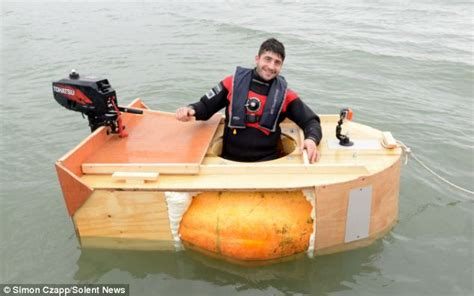 pumpkin boat 2013 news from the village of banks crossens and marshside