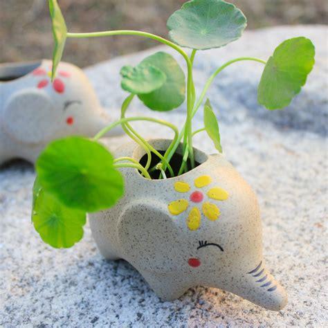 online get cheap ceramic elephant planter aliexpress com alibaba group