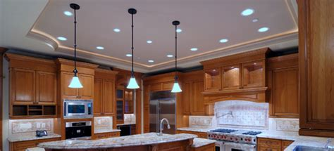 led recessed lighting kitchen designs