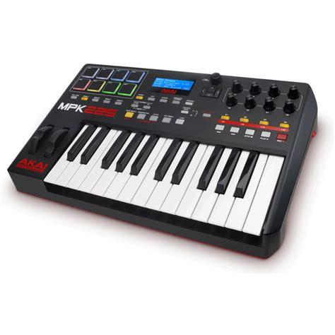 Keyboard Controller akai mpk225 midi controller keyboard at gear4music