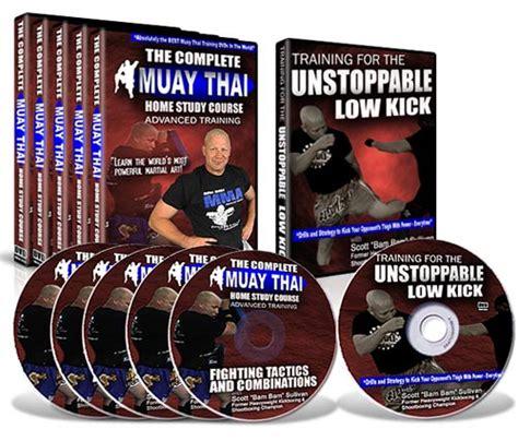 muay thai dvd the complete muay thai home study
