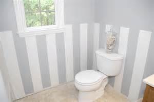 easy diy wall stripes in the bathroom living rich on