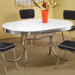 Diner Kitchen Table Dining Table Chrome Retro Dining Table