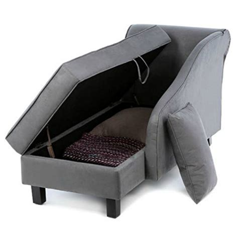 storage chaise lounge chair storage chaise lounge chair this microfiber upholstered