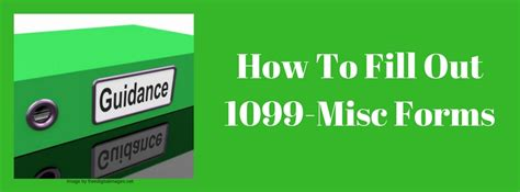 how to fill out 1099 misc forms affordable bookkeeping