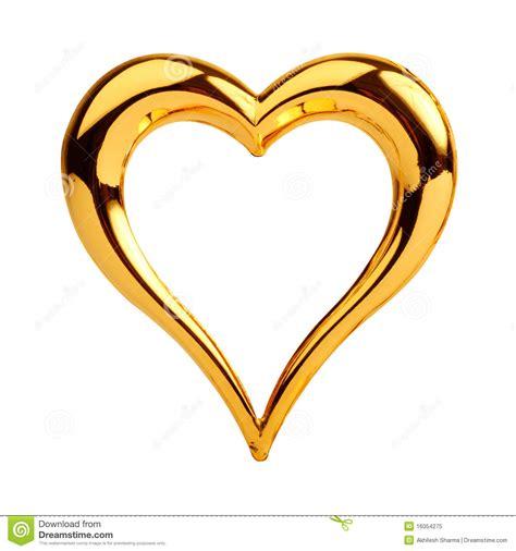 imagenes de corazones oro coraz 243 n de oro imagen de archivo imagen de joyer 237 a
