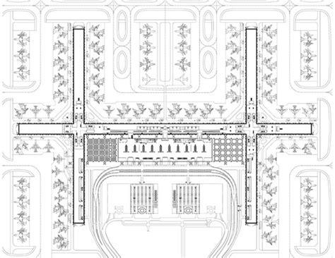 airport terminal floor plans passenger terminal complex suvarnabhumi airport jahn
