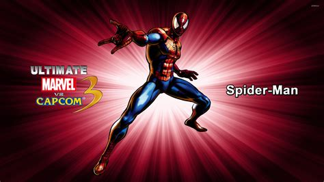spider man ultimate marvel vs capcom 3 spider man ultimate marvel vs capcom 3 wallpaper game