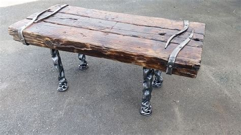 wrought iron and wood bench bench wood wrought iron bt65 bc blacksmith