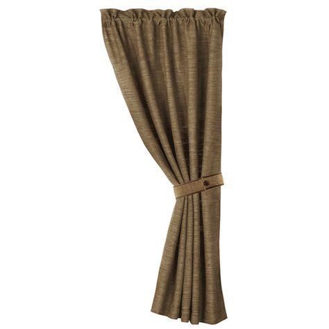 tieback curtains highland lodge curtain with tieback