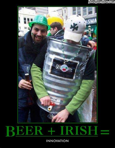 St Patrick S Meme - beer and irish innovation jokes memes pictures