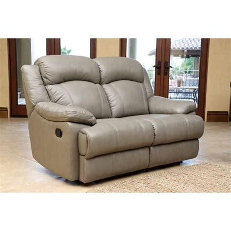 abbyson living reclining sofa abbyson living warwick leather reclining loveseat in grey
