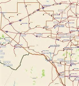 pecos map