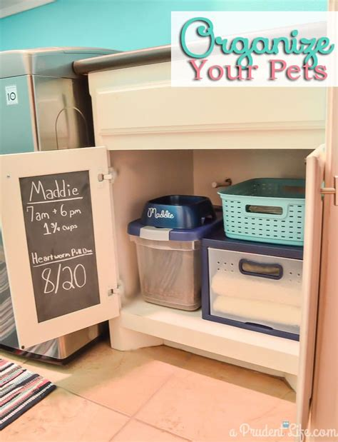 7 Ways To Organize Your Pet by Organizing Pet Supplies Laundry Room Post 1 Polished