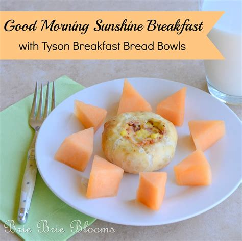 Would You Prefer A Breakfast Or Sleep by Morning Breakfast With Tyson Breakfast Bread