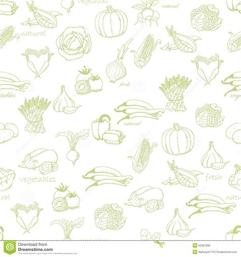 pattern light en español kitchen seamless pattern with a variety of vegetables on