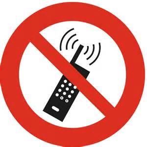 Verbotsschild f 252 r quot handy verboten quot 169 bibliographisches institut