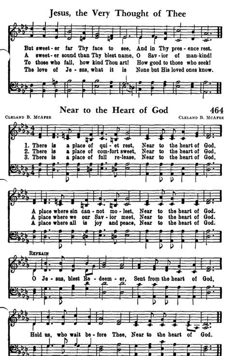 A Place Hymn Sheet Favorite Hymns Of Praise 464 There Is A Place Of Rest Hymnary Org