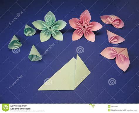imagenes de flores origami flores de origami foto de archivo libre de regal 237 as