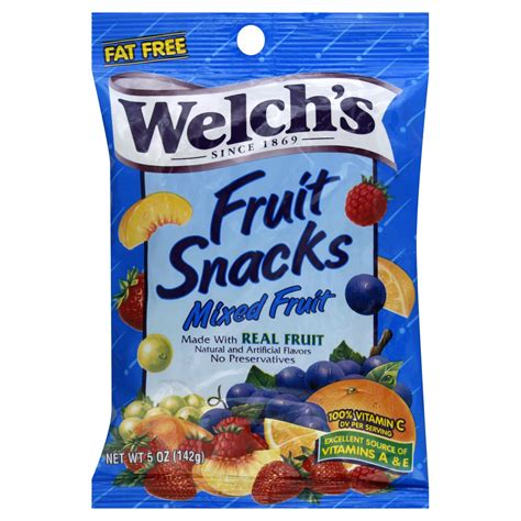 g fruit snacks welch s fruit snacks berries n cherries 5 oz 142 g