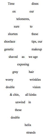 biology poems ancient eavesdropper on quot concrete poem of dna