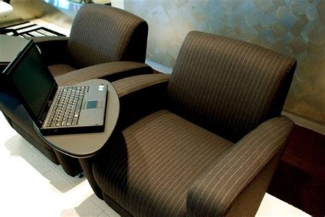 lounge chair with laptop table fulton showcases furniture pieces integrating ecoupled
