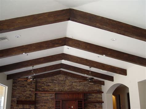 Faux Wood Ceiling by How To Install A Faux Ceiling Beams Med Home Design
