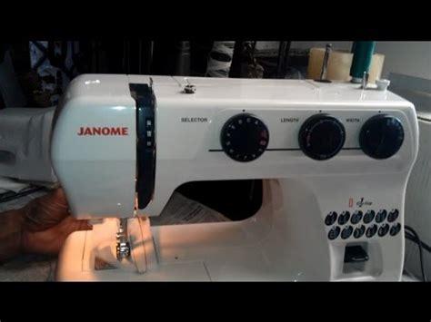 Cara Menggunakan Mesin Jahit Janome tutorial menggunakan mesin jahit janome suv1122