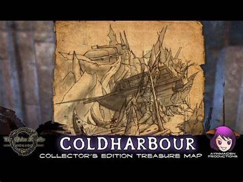 coldharbour treasure map coldharbour ce treasure map elder scrolls wiki