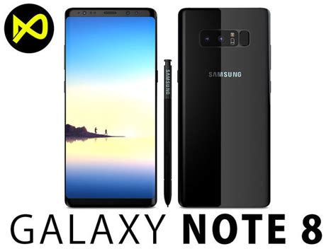 Samsung Note 8 Paketblackberry samsung galaxy note 8 midnight black high quality 3d model max obj 3ds fbx c4d lwo lw lws