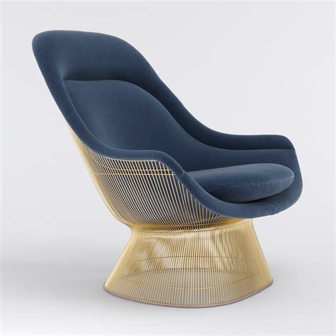 knoll ottoman platner easy chair and ottoman gold knoll