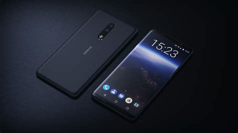 Android Z982 by Nokia Vision 2018 Concept Shows Curved Screen Matte
