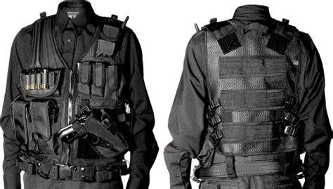 all black tactical gear utg tactical vest gear swat enforcement
