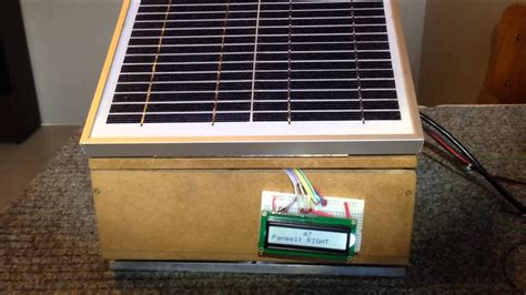 Kemben Waterproof solar tracker project linux raspberry pi