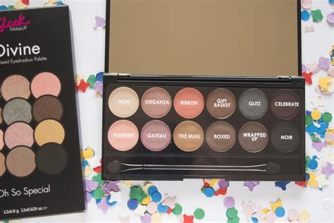 New Sleek I Eyeshadow Palette Oh So Special sleek i oh so special eyeshadow palette review swatches