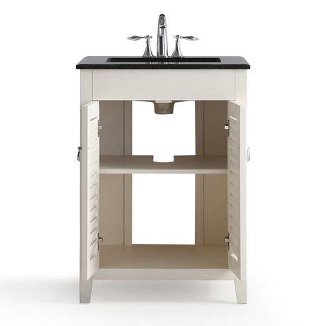 24 Bathroom Vanity With Granite Top Palmer 24 Quot Bath Vanity With Black Granite Top Walmart Canada