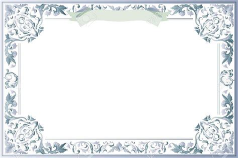 Blank Certificate Template for Best Solution   Printable