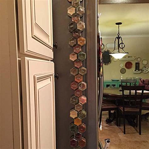 diy hexagonal spice rack gneiss spice diy magnetic spice rack includes empty
