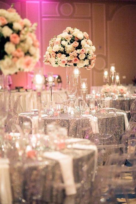 glitter inspiration for wedding decor threads