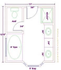 Free 11x12 master bath floor plan master baths 11x12 free floor plan