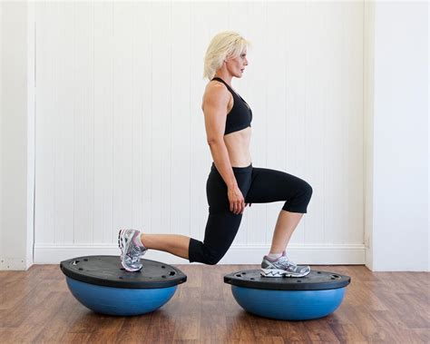 bosu fitness training exercises  horse riders