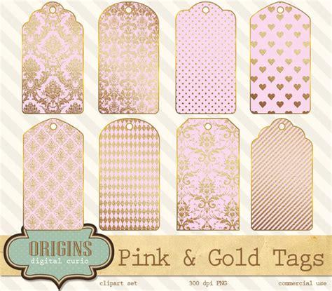 printable gift tags pink pink and gold printable gift tags graphics on creative