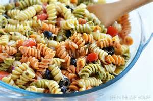 tri colored pasta salad tri color pasta salad