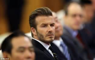 Beckham Is Magazines Of The Year by David Beckham Favourite For Country Magazine S